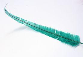 Long Cut Emerald Green Ostrich Feather